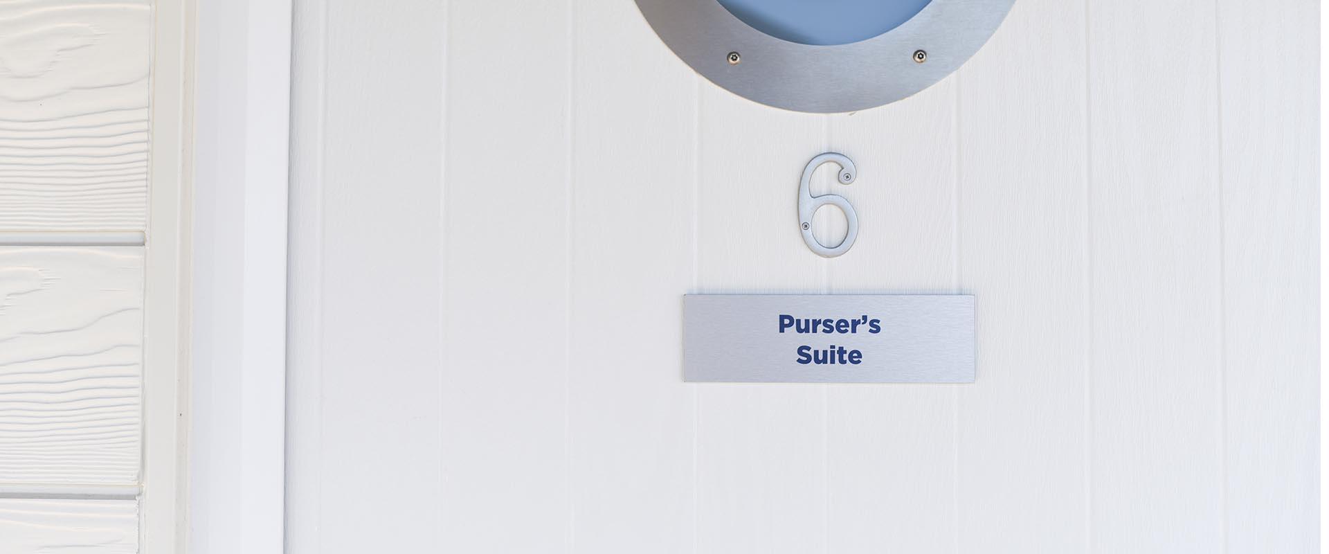 6 – Purser's Suite
